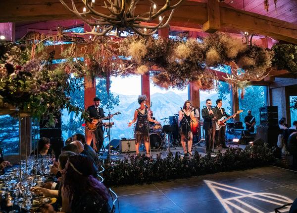 The Replicas Music | Destination Wedding in Telluride